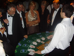 Casino equipment for hire